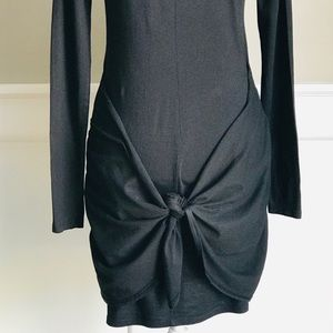 Michael Stars Dresses - 🧵Michael Stars | Black Dress with Tie Knot